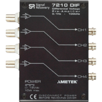 Model 7210DIF Four Channel Differential Voltage Preamplifier | SIGNAL RECOVERY Turkey
