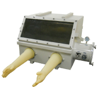 Middle size heavy duty stainless steel glove box which is ideal for material and chemical researchers to process air sensitive materials and solutions | MTI Turkey