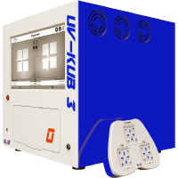 UV-KUB 3 is a UV-LED based compact mask aligner system with light source at 365nm and compatibility with up to 4 inches wafers | KLOÉ Türkiye